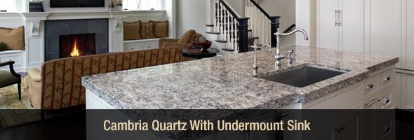 Cambria Quartz Undermount Sink
