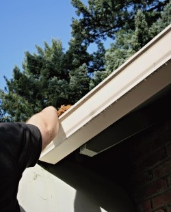 Clean Gutters Increase Protection