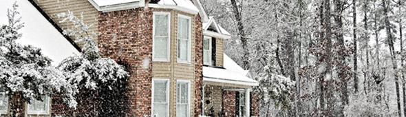 Winter Sleet Damage Roofing Contractor