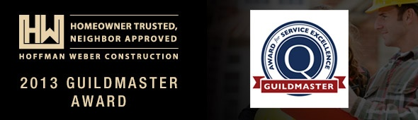 Hoffman Weber Construction 2013 Guildmaster Award