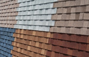 Various Asphalt Shingle Colors