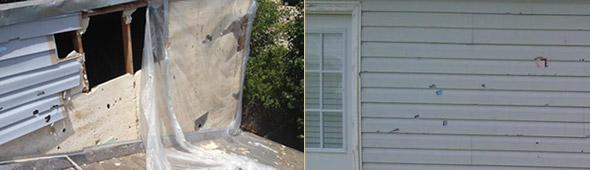 Oklahoma Hail Damage Photos