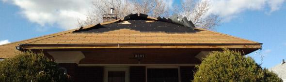 Salt Lake City Roof Storm Damage