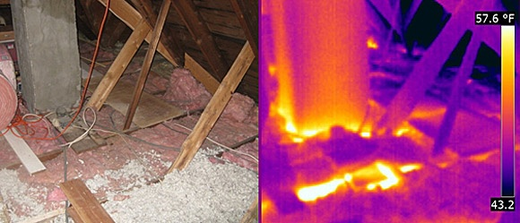 Attic Insulation and Thermal Imaging