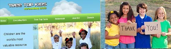 Tree Top Kids Website