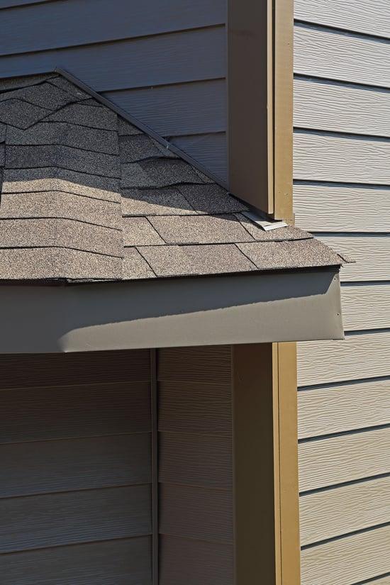 asphalt roof metal siding