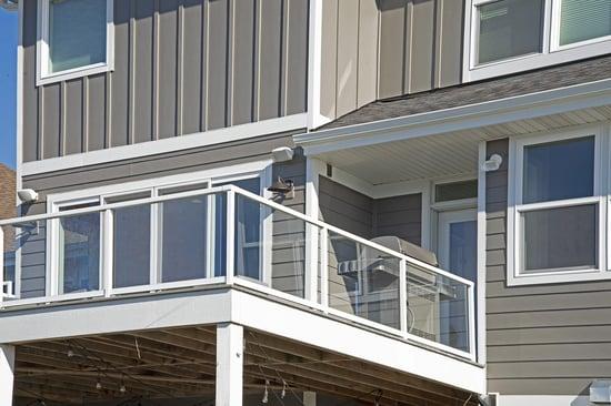 deck with windows