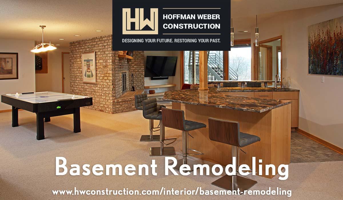 Hoffman Weber Basement Remodeling