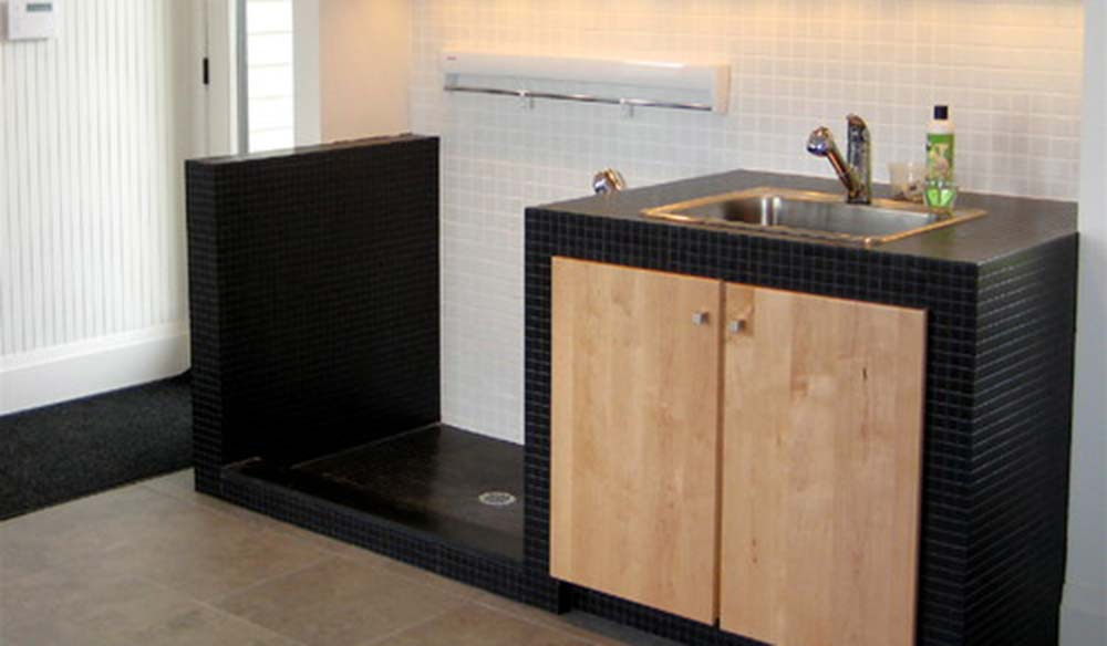 Dog Washing and Grooming Station