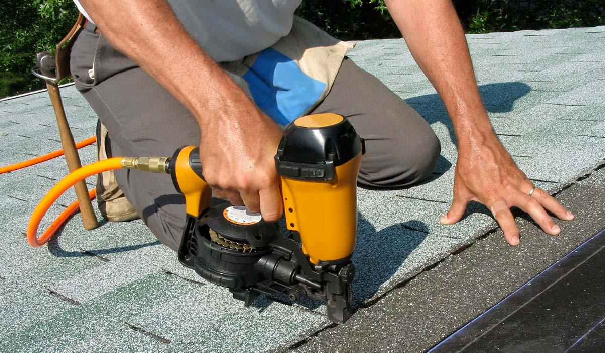 Roofing Nailing Shingles