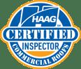 haag certified commercial roof inspector