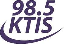 98.5 KTIS FM Logo