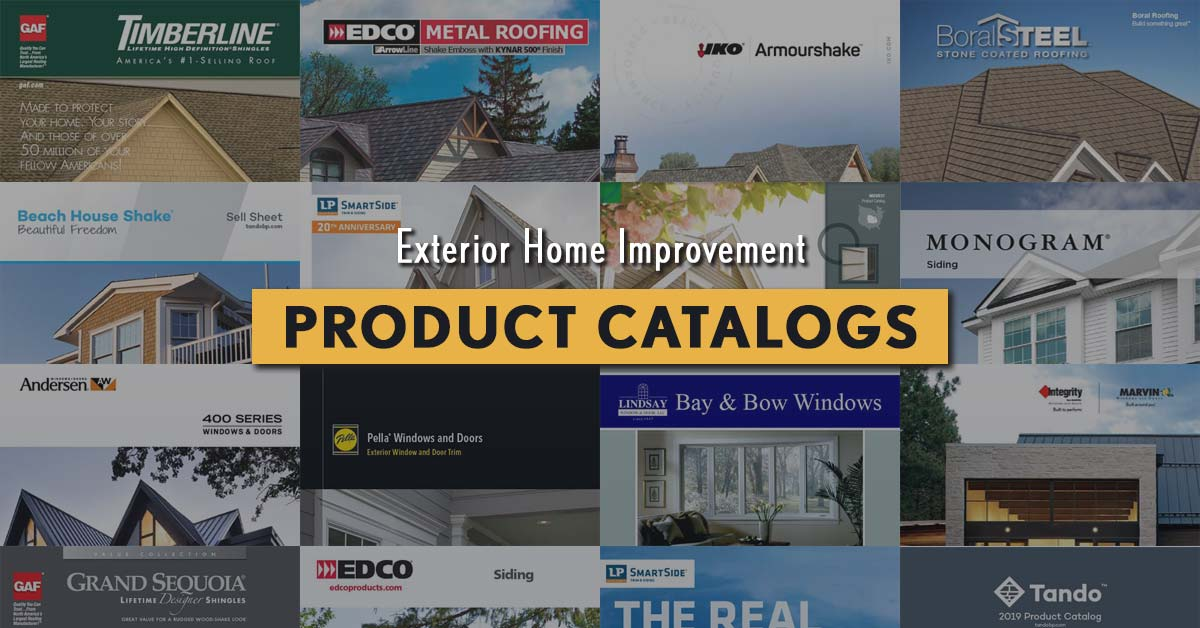 exterior product catalogs