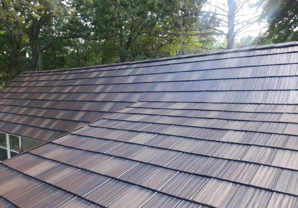 EDCO Roofing ArrowLine Shake Royal Brown Blend