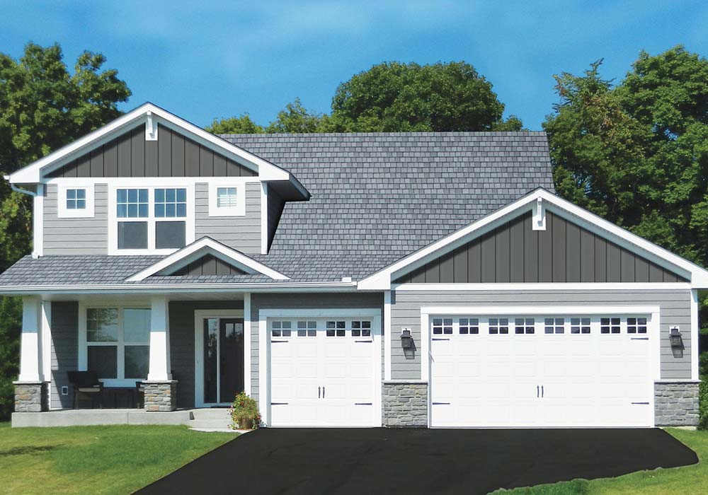 EDCO Roofing ArrowLine Slate Charcoal Gray Blend