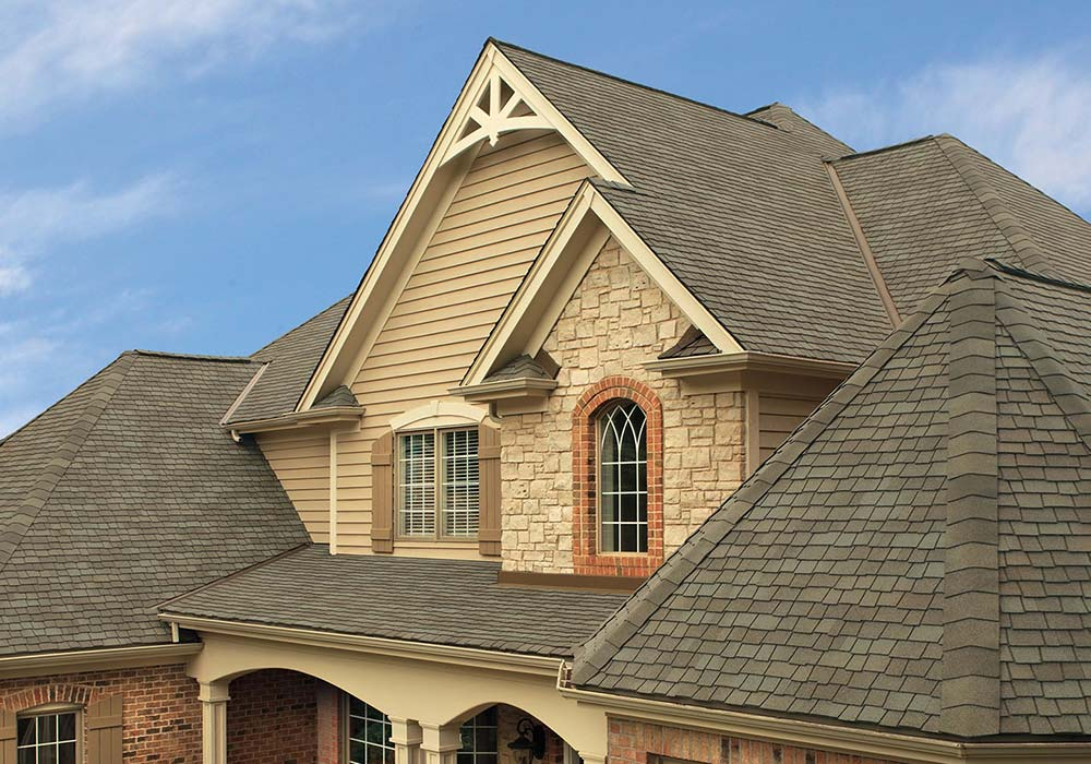 GAF Roofing Glenwood Weathered Wood