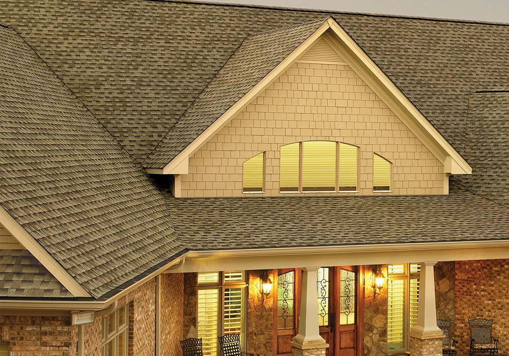 GAF Roofing Timberline HD Weathered Wood