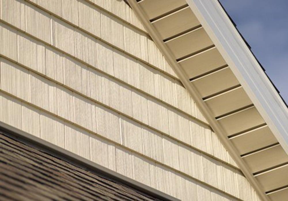 CertainTeed Siding Cedar Impressions Straight Edge Perfection Shingle Light Maple