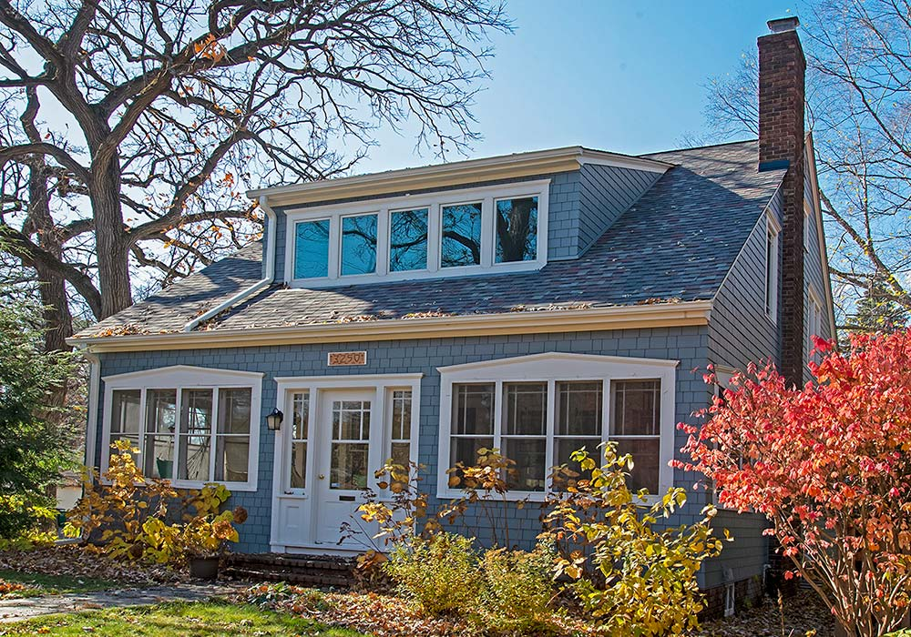 James Hardie Siding Straight Edge Panel Shingle Boothbay Blue