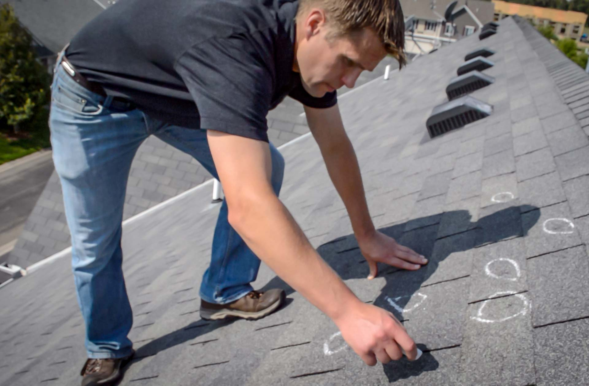 Storm Damage Roofing Inspection