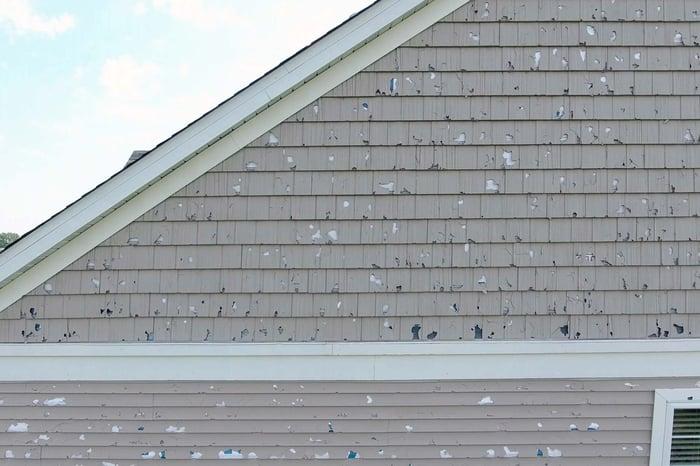 Vinyl Siding Hail Damage