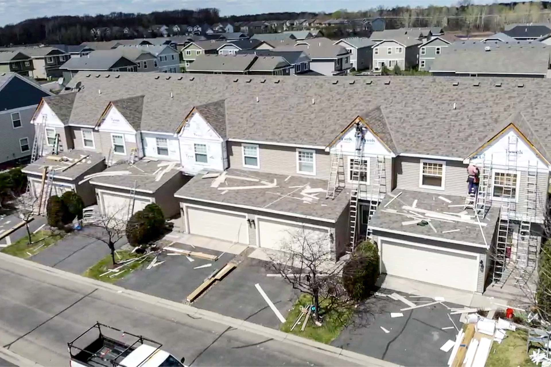 multifamily hoa townhouse siding replacement
