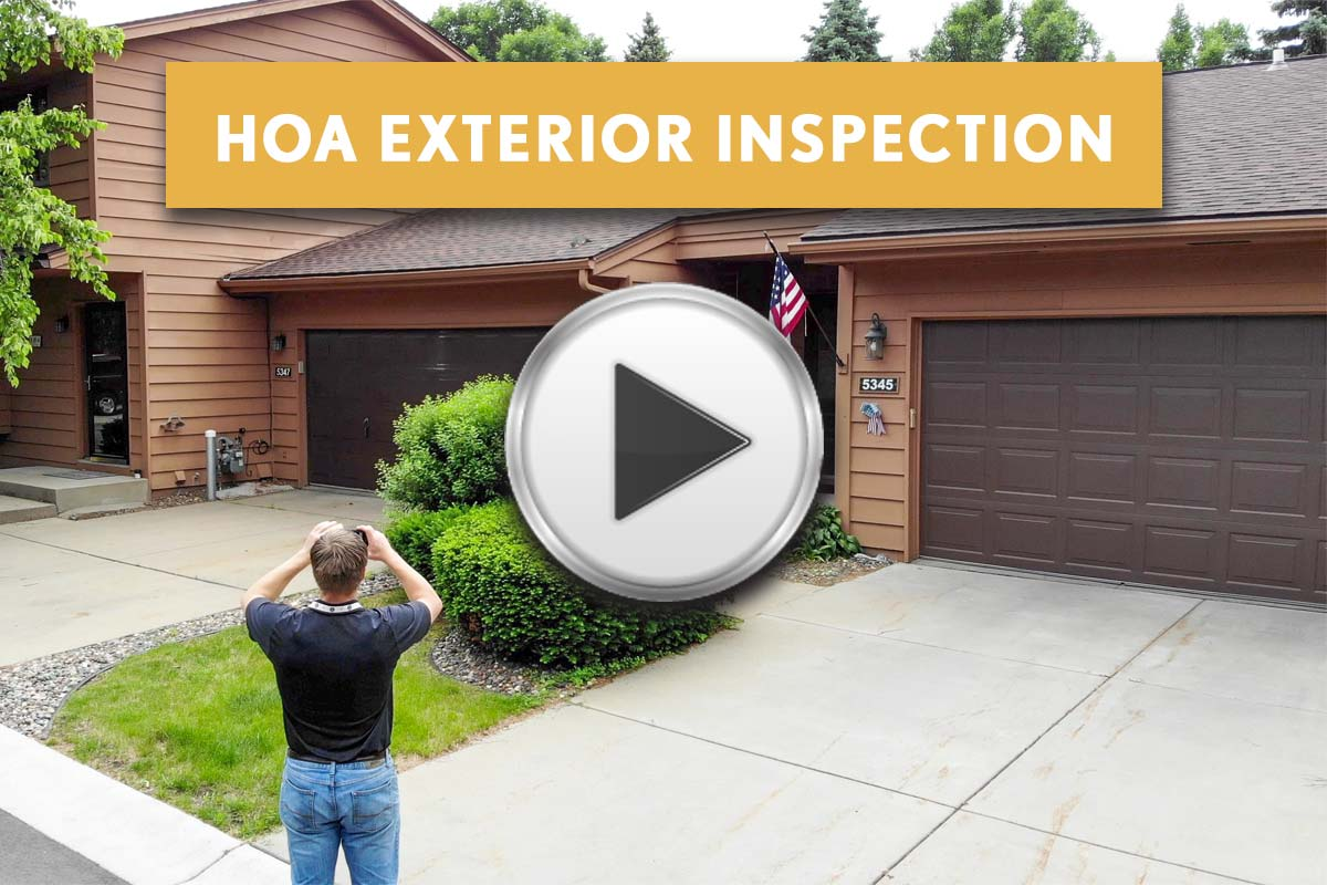 HOA Townhouse Property Exterior Inspection