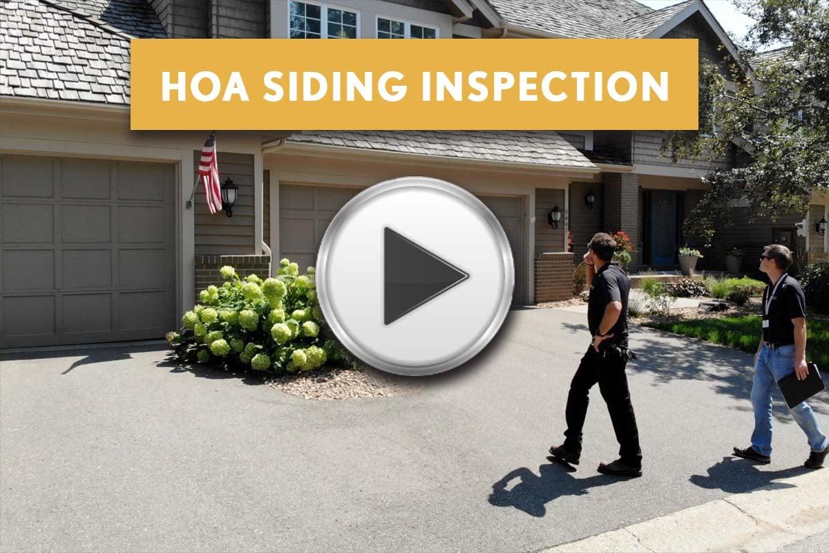 HOA Townhouse Siding Inspection