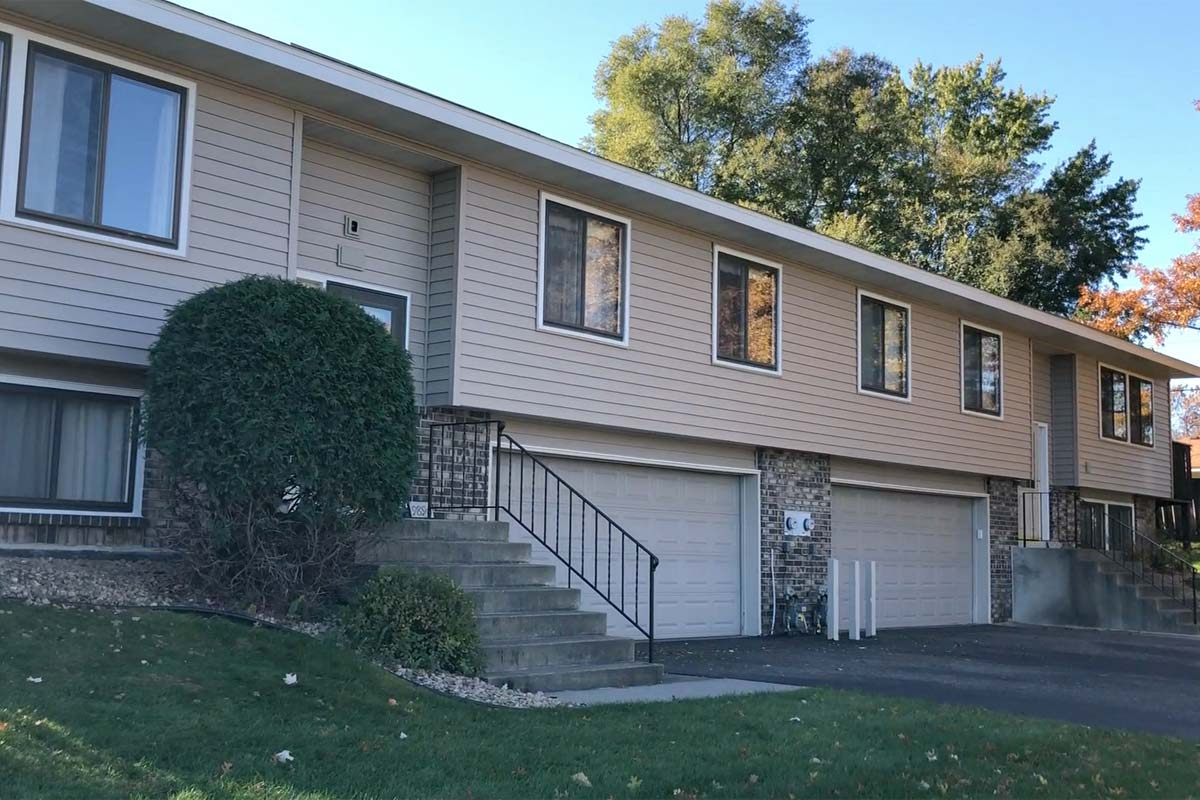 Townhomes Roof, Siding, Windows Replacement <small>Minneapolis, MN</small>