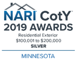2019_Chapter CotY Awards_Minnesota_Residential Exterior $100,001 to $200,000_SILVER_Color