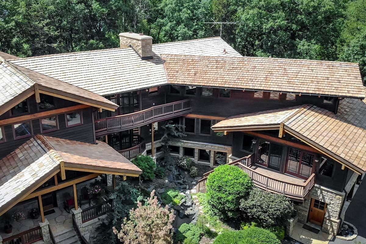 Roofing Heavy Cedar Shake