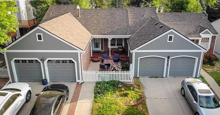 HOA duplex home