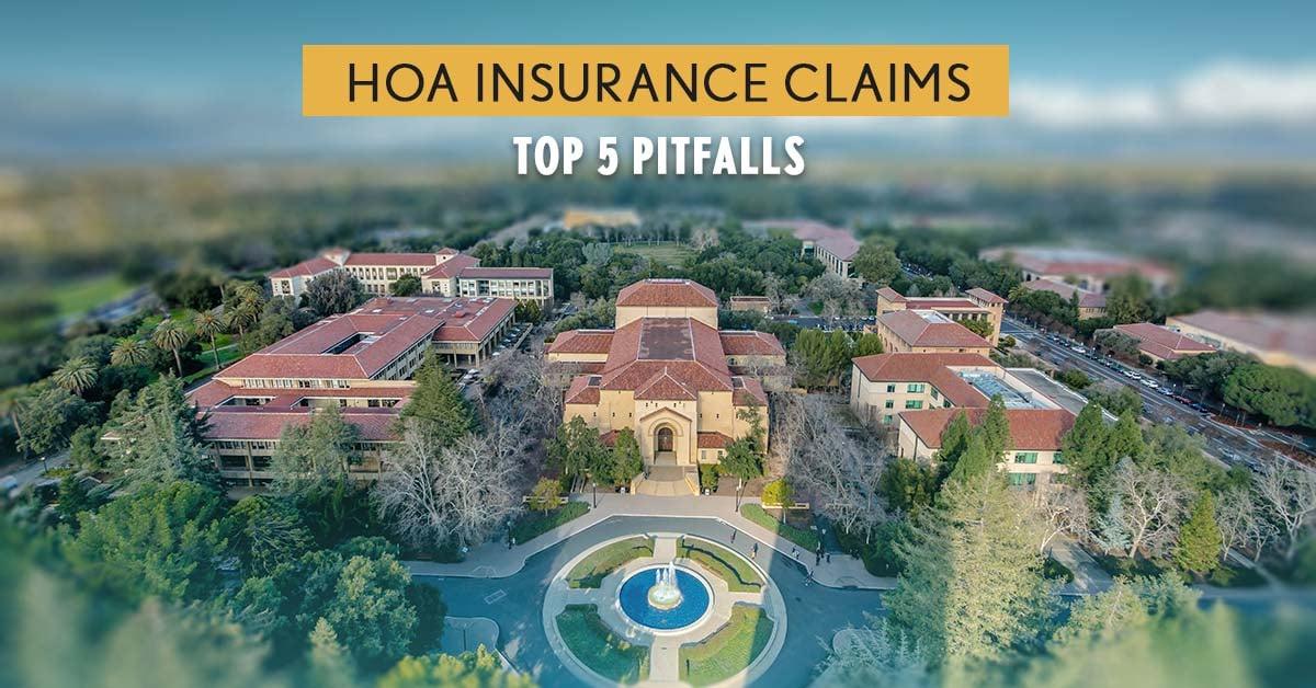 hoa insurance claim pitfalls