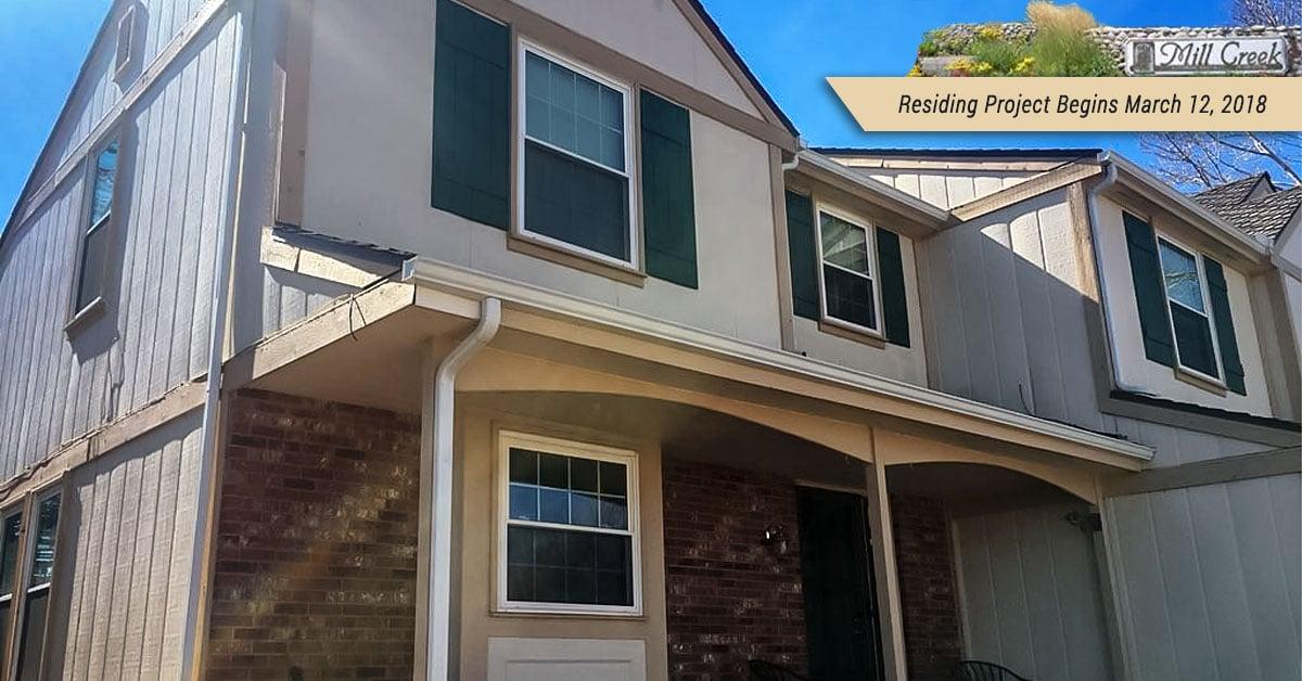 centennial duplex home siding replacement