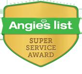 Angie's List Super Service Award Winner