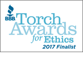 BBB Torch Awards for Ethics Finalist
