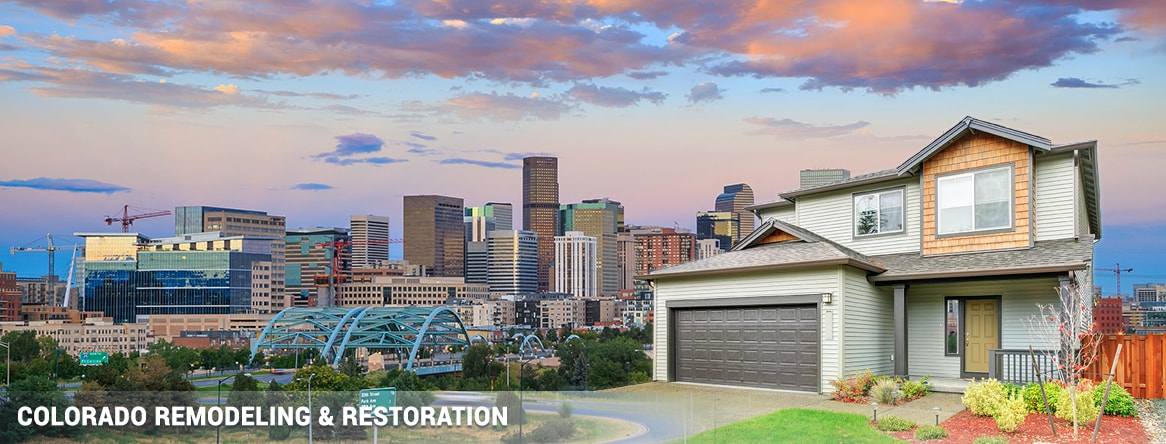 Denver Colorado exterior remodeling & restoration
