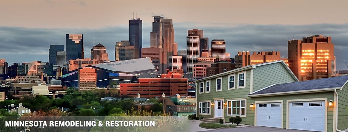 Remodeling & Restoration in Minneapolis Saint Paul Minnesota