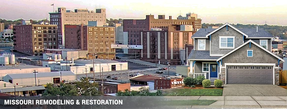 Saint Joseph Missouri remodeling & restoration