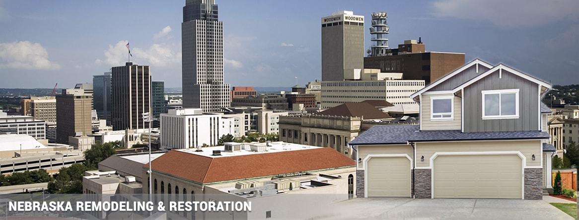 Omaha Lincoln Bellevue Nebraska remodeling & restoration