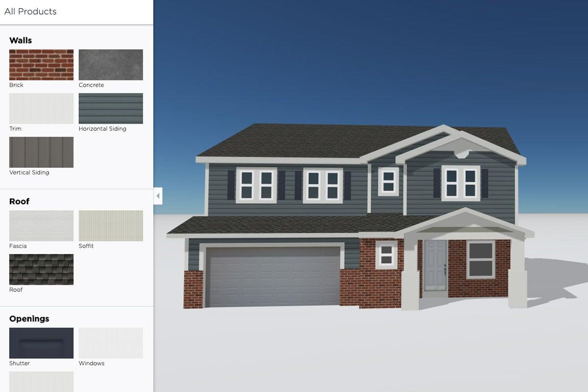 Exterior Design<small>Visualizer Tool</small>
