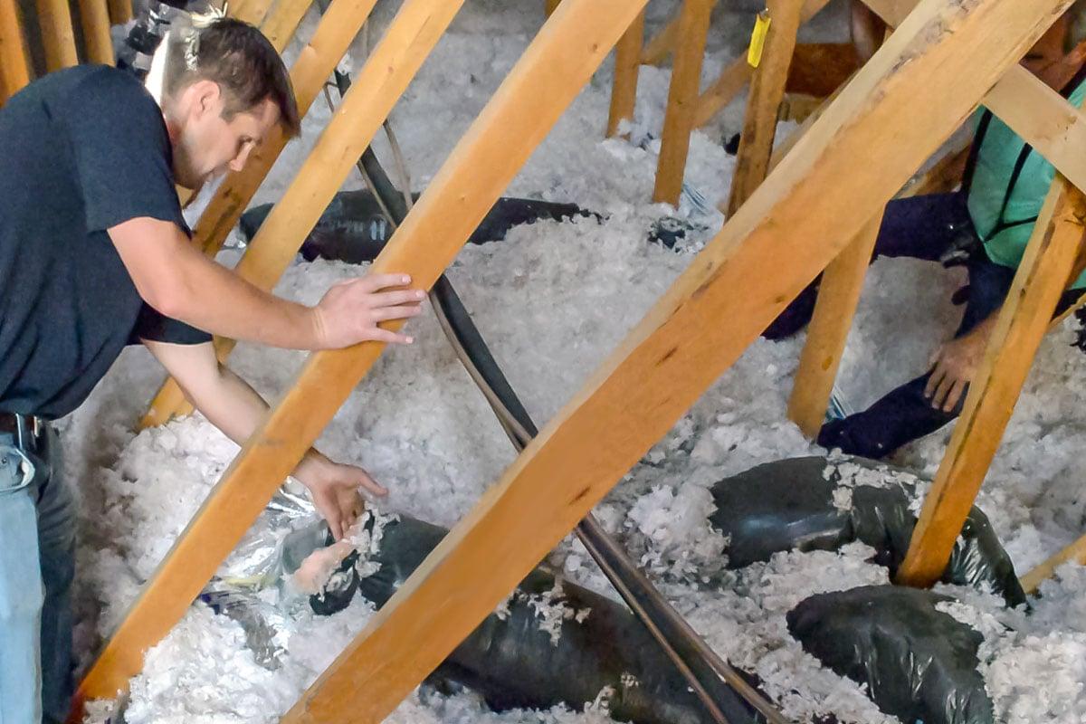 Condos Insulation Inspection