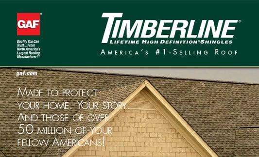 GAF Timberline HD brochure