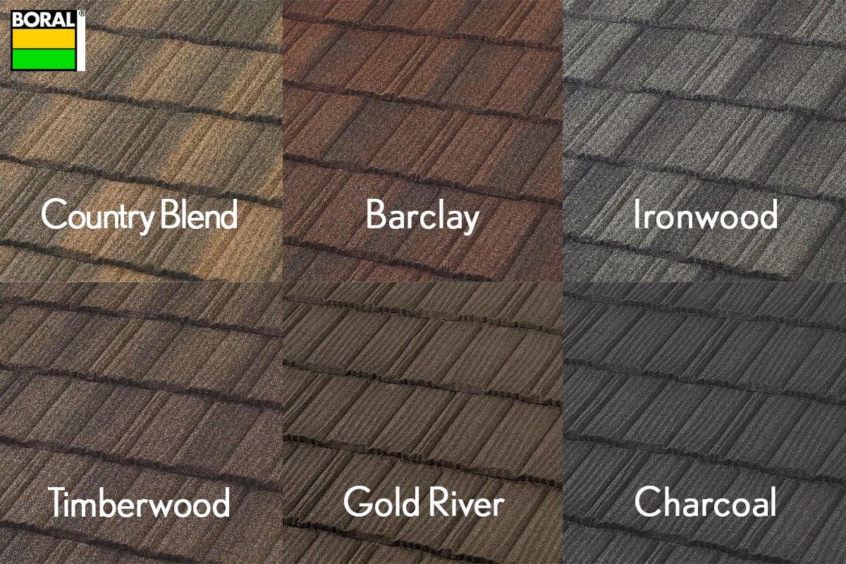 Boral Pine Crest colors