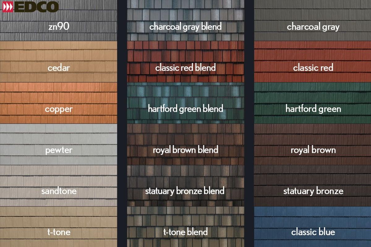 EDCO Arrowline colors