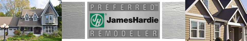 James Hardie fiber cement siding contractor