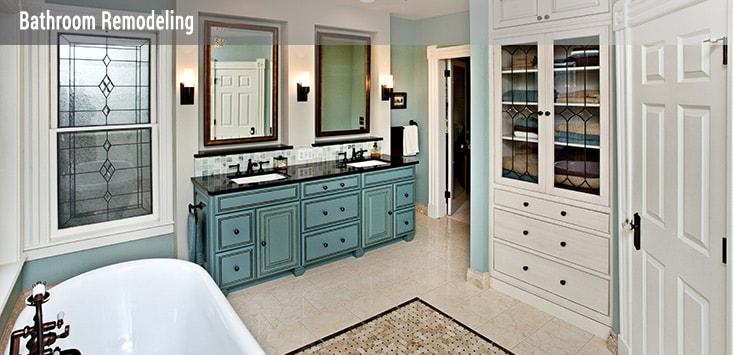 custom bathroom design and remodeling