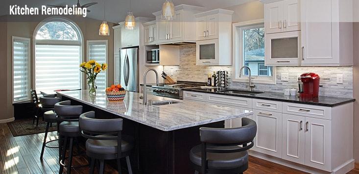 custom kitchen design and remodeling