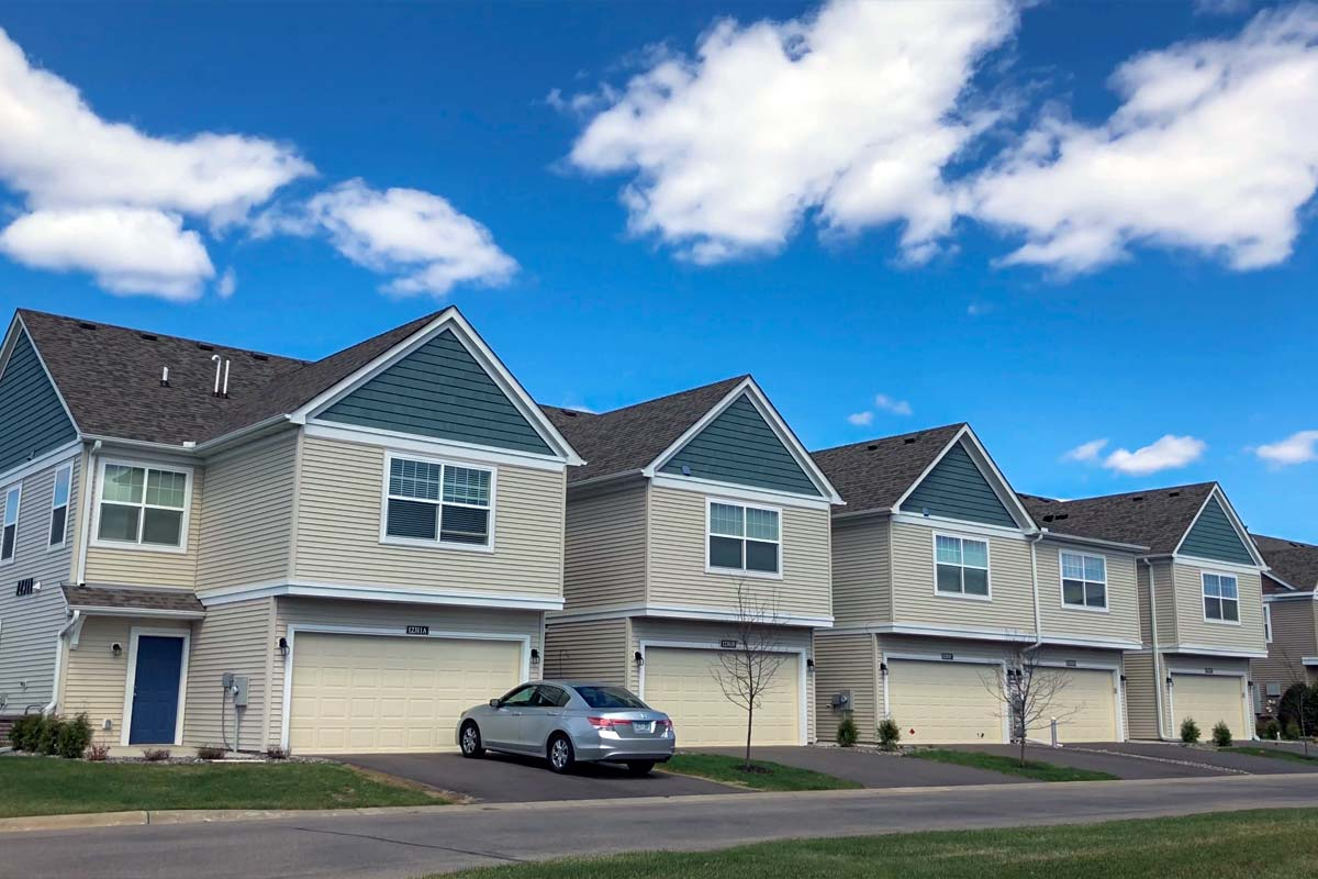 Townhomes Roofing, Siding, Windows Replacement<small>Blaine, MN</small>