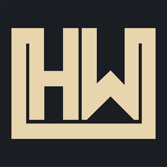 HW square background